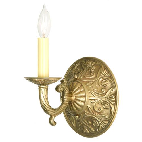 JVI Designs Antique Brass One Light Wall Sconce
