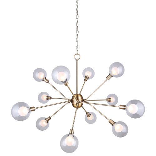 Estella Gold 12-Light Chandelier