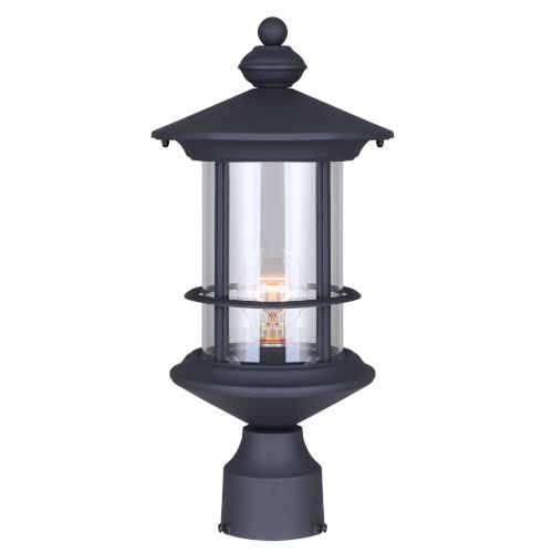 Treehouse Black 8 One-Light Outdoor Wall Mount