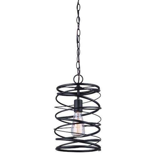 Ryland Black One-Light Mini Pendant