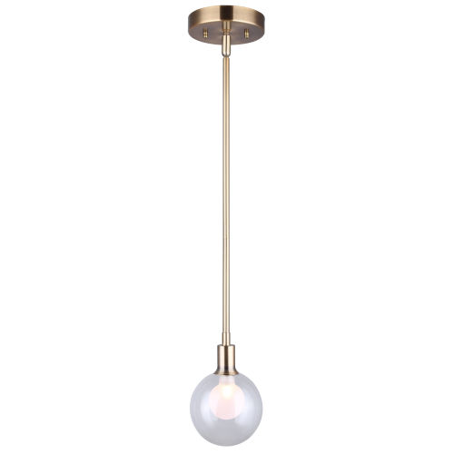 Estella Gold One-Light Mini Pendant