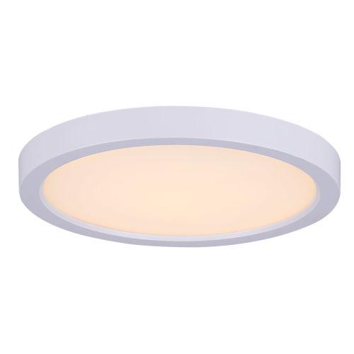 White 7 LED Flush Mount