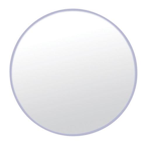Brushed Nickel 33 x 33 Inch Mirror