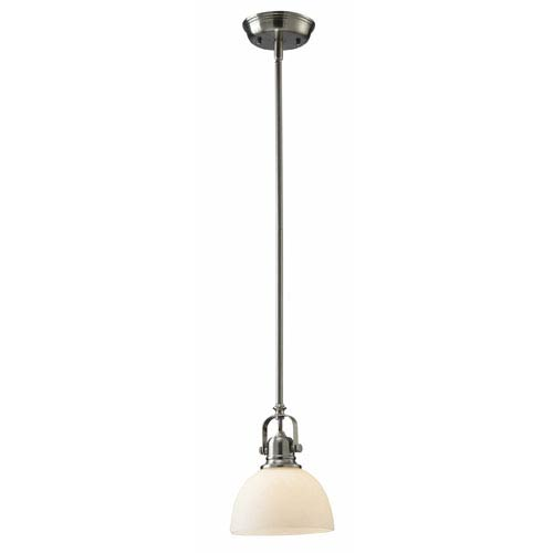 Canarm Rowan Brushed Nickel Pendant Light