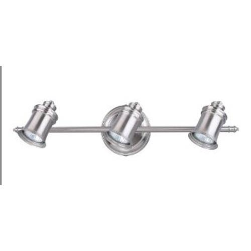 Canarm Taylor Brushed Pewter Three-Light Directional Spotlight