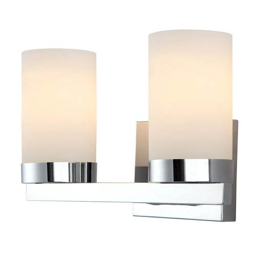 Canarm Milo Chrome Two-Light Vanity Light