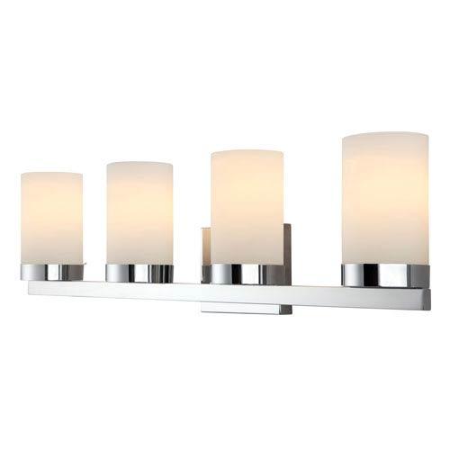 Milo Chrome Four-Light Vanity Light