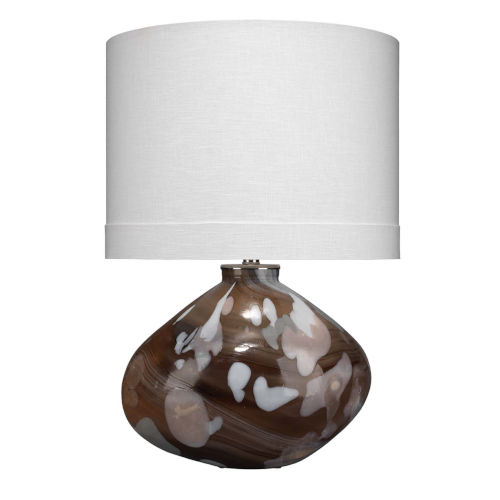 Artist Espresso with Petal One-Light Table Lamp