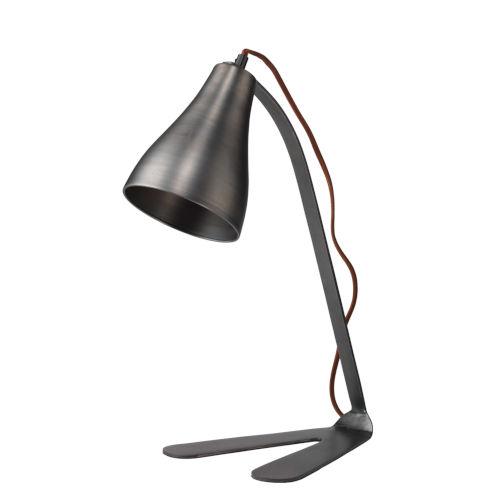 Fleetwood Gun Metal One-Light Table Lamp