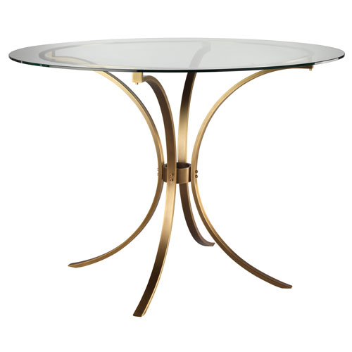 Criterion Antique Brass 43-Inch Table