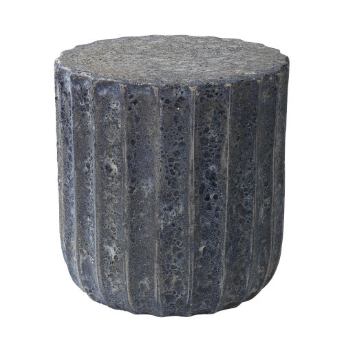 Dosa Blue Clay Side Table