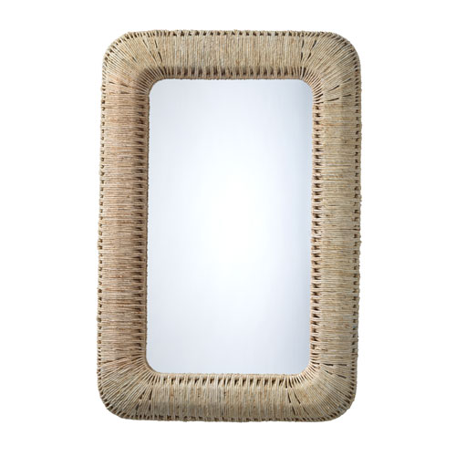 Hollis Natural Rectangle Wall Mirror