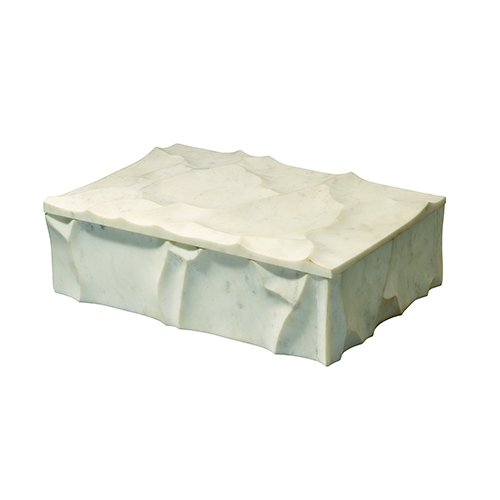 Everest White Marble Box