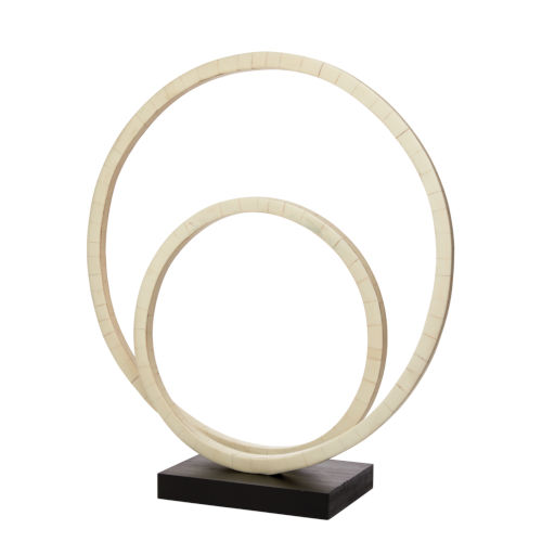 Helix Natural Bone Iron Resin and MDF Sculpture