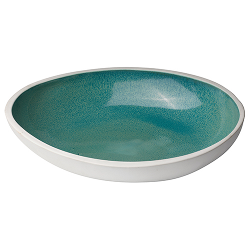 Mykonos Ocean Ombre  Reactive Glaze  Bowl