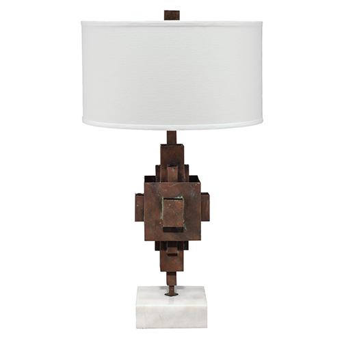 Apprentice Rust Patina One-Light Table Lamp
