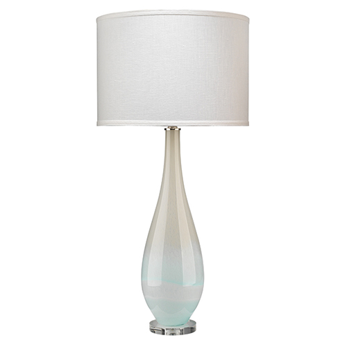 Dewdrop Sky Blue Glass Table Lamp