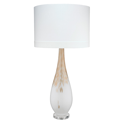 Dewdrop Gold Ombre One-Light Table Lamp