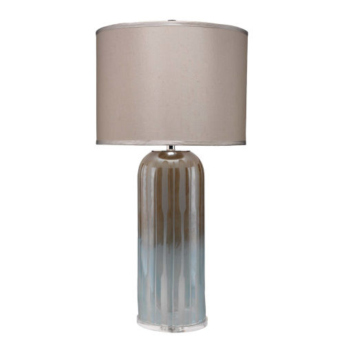 Ethereal Taupe with Opal One-Light Table Lamp