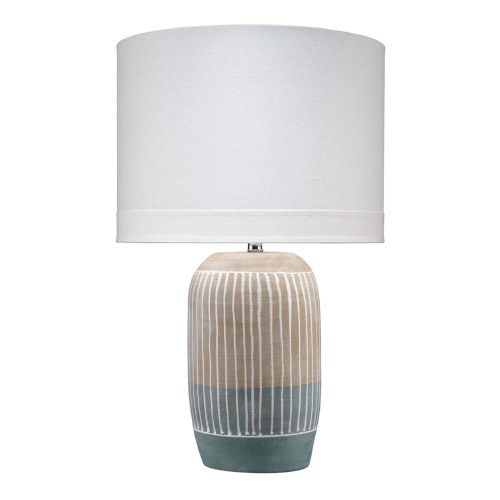 Flagstaff Natural with Slate One-Light Table Lamp