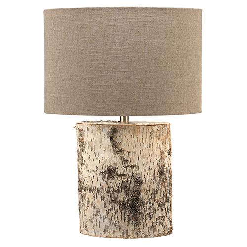 Forrester Birch Veneer Table Lamp
