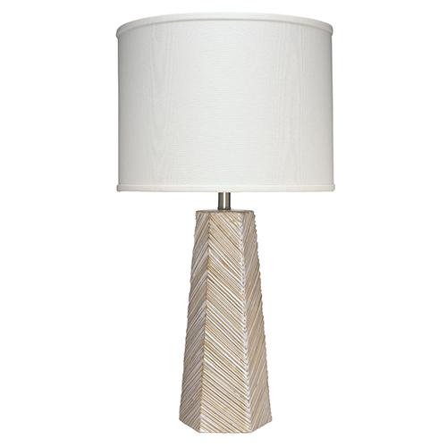 High Cream One-Light Table Lamp