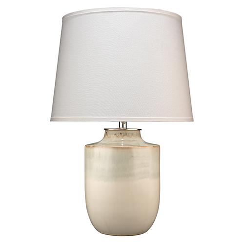 Lagoon Cream Ceramic Table Lamp