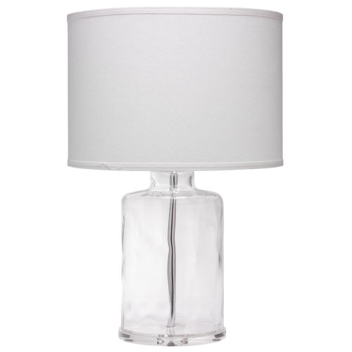 Napa Clear One-Light Table Lamp