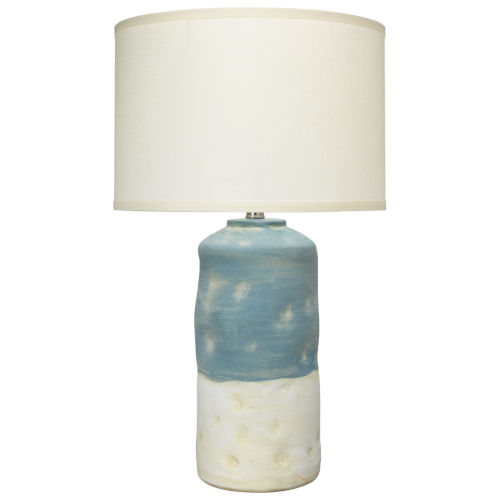 Sedona Blue and White One-Light Table Lamp