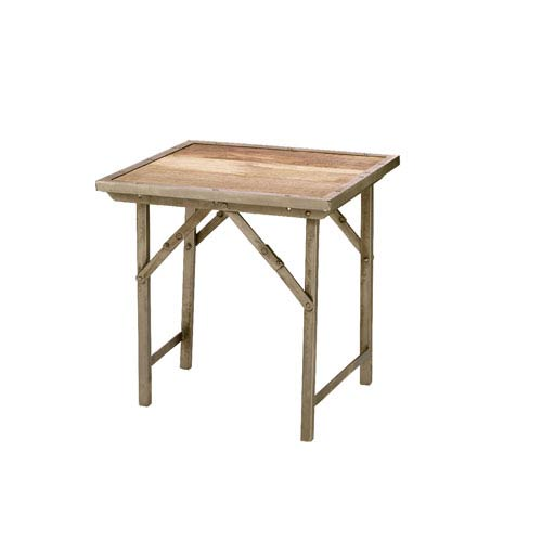 Jamie Young Company Campaign Folding Side Table