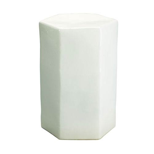 Large White Side Table