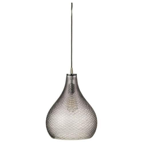 Grey 13-Inch One-Light Pendant