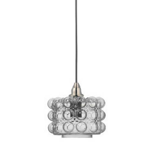Clear 6.5-Inch One-Light Pendant