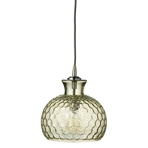 Clark Taupe One-Light Mini-Pendant