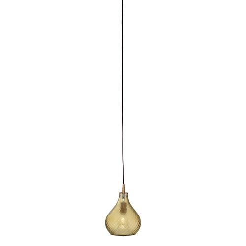 Jamie Young Company Cloud Frosted Taupe One-Light Mini-Pendant