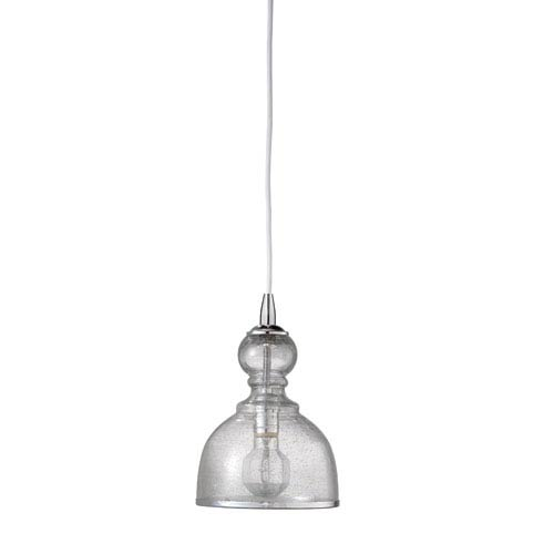Jamie Young Company St Charles Clear One-Light Mini Pendant