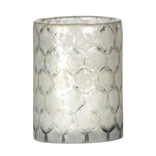 Lattice Glass 6.5-Inch Hurricane Glass