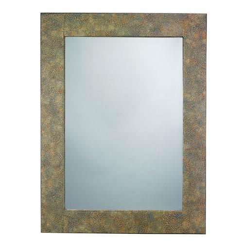 Jamie Young Company Grey Eggshell Mirror