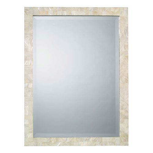 Mother of Pearl Rectangle Mirror