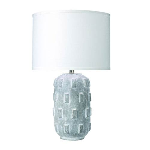 Jamie Young Company Boulder Grey Ceramic Table Lamp