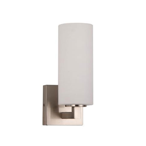 Brushed Nickel One-Light Wall Sconce