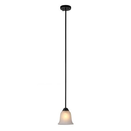 Brushed Nickel Seven-Inch One-Light Mini Pendant