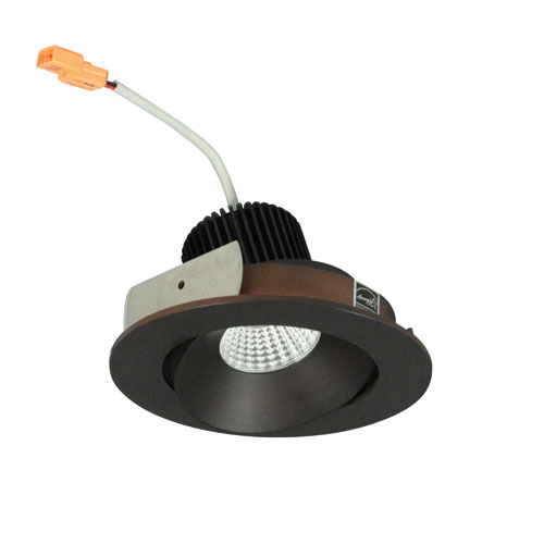 Iolite Bronze Four-Inch 27K LED Adjustable Cone Regress Round Recessed Light
