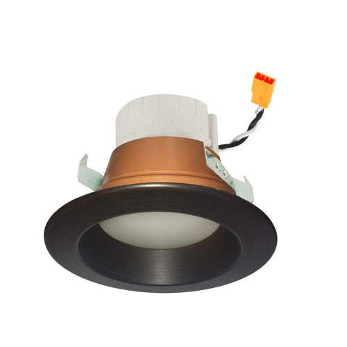 PRISM Bronze Four-Inch LED Smart Color Changing Retrofit Reflector Downlight