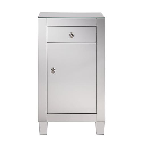 Elegant Lighting Contempo Mirrored 32-Inch Cabinet