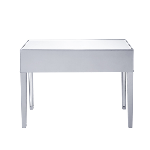 Elegant Lighting Reflexion Antique Silver Paint Desk