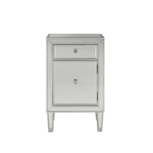 Reflexion Antique Silver Paint 29-Inch Nightstand