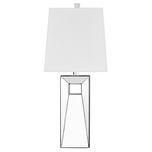 Sparkle Frosted White 28-Inch One-Light Table Lamp