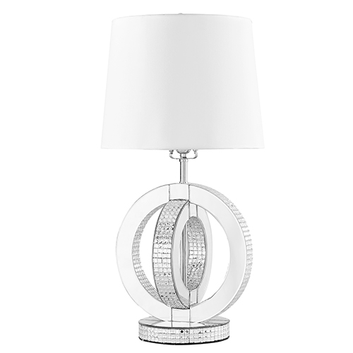 Sparkle Mirrored 26-Inch One-Light Table Lamp