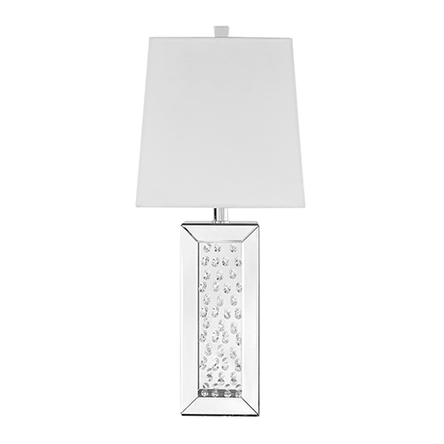 Sparkle Mirrored 28-Inch One-Light Table Lamp